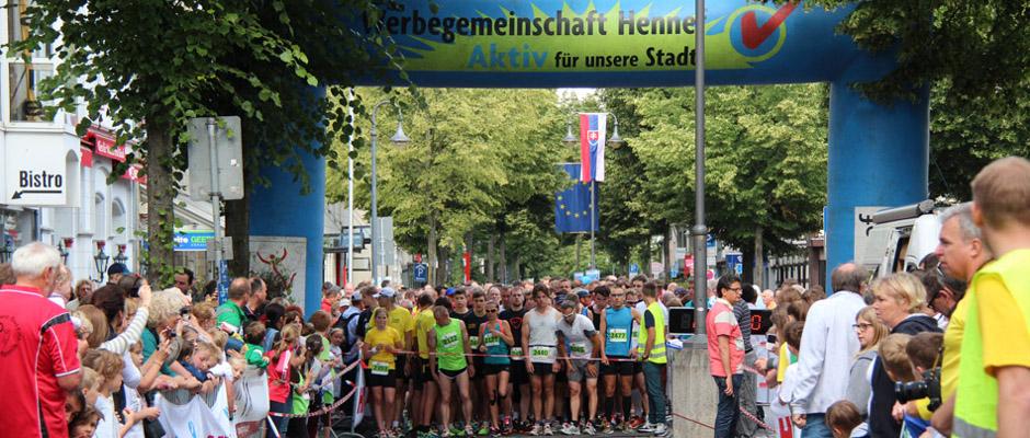 Europalauf in Hennef am 24.6.2017