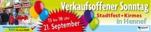Verkaufsoffener Sonntag in Hennef am 21. September 2014
