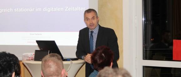 """Vortragsveranstaltung - """"Handel(n ) mit Profil, erfolgreich stationär im digitalen Zeitalter"""" (01.03.2016)"""