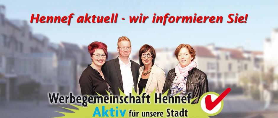 Hennef aktuell - Die Werbegemeinschaft Hennef informiert!