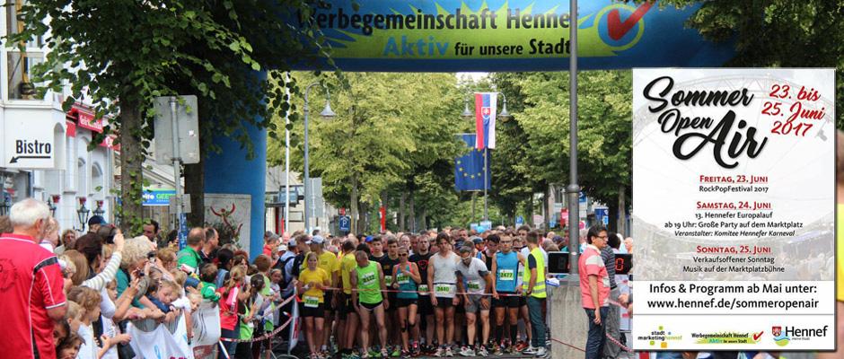Europalauf und SommerOpenAir in Hennef