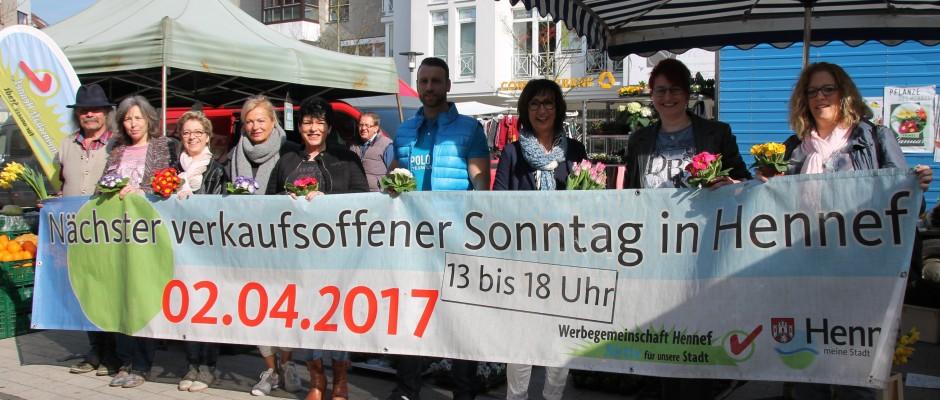 Verkaufsoffener Sonntag vor Ostern in Hennef