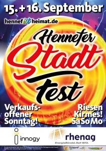 Stadtfest Hennef Plakat 2018