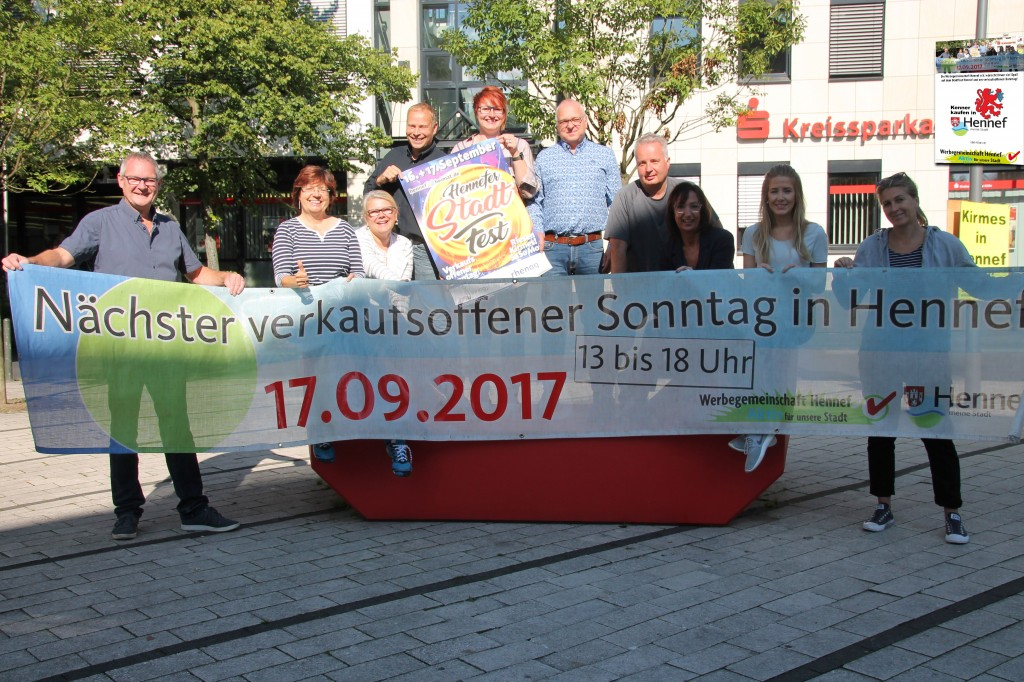 Verkaufsoffener Sonntag zum Stadtfest 2017