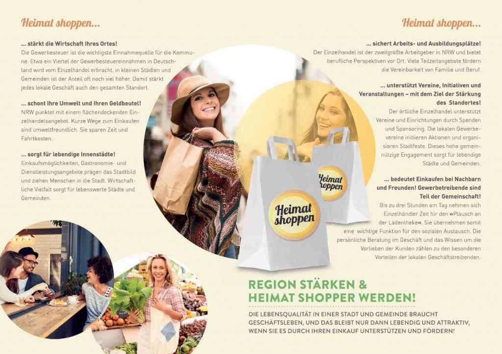 Heimat shoppen in Hennef 2017 - Flyer
