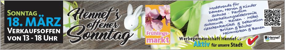 Verkaufsoffener Sonntag Frühling Hennef