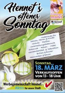 Verkaufsoffener Sonntag mit Frühlingsmarkt 2018