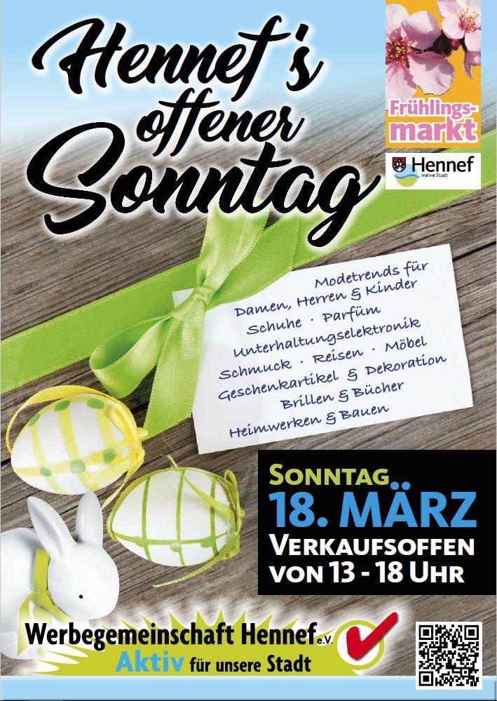Verkaufsoffener Sonntag Mit Frühlingsmarkt Werbegemeinschaft Hennef