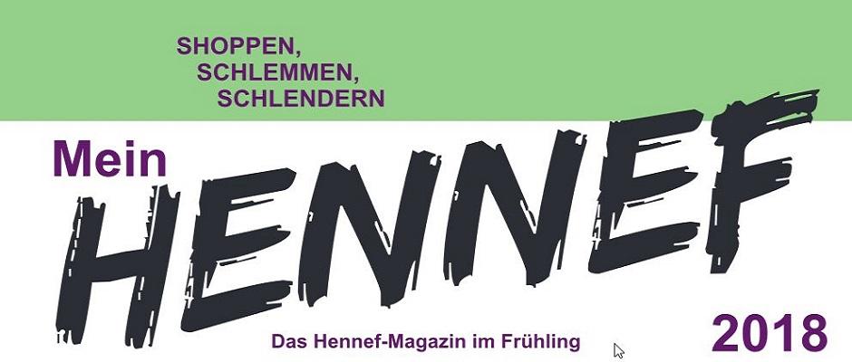 2018 logo hennef magazin fruehling werbegemeinschaft hennef. Black Bedroom Furniture Sets. Home Design Ideas