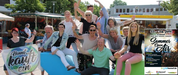 Verkaufsoffener Sonntag zum SommerOpenAir in Hennef