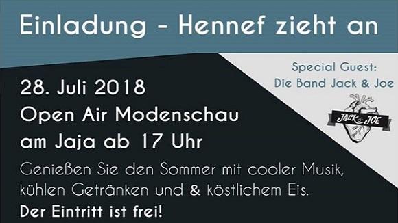 Anziehpunkt Hennef Modenschau