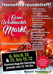 Kleiner Weihnachtsmarkt Hennef 2018