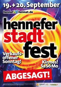 Stadtfest 2020 - abgesagt! @ Festmeile Hennef | Hennef (Sieg) | Nordrhein-Westfalen | Deutschland