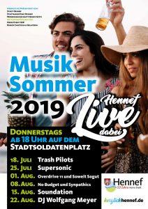 Plakat Hennef Live 2019