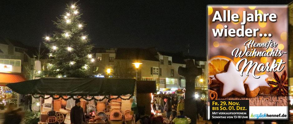 Weihnachtsmarkt in Hennef