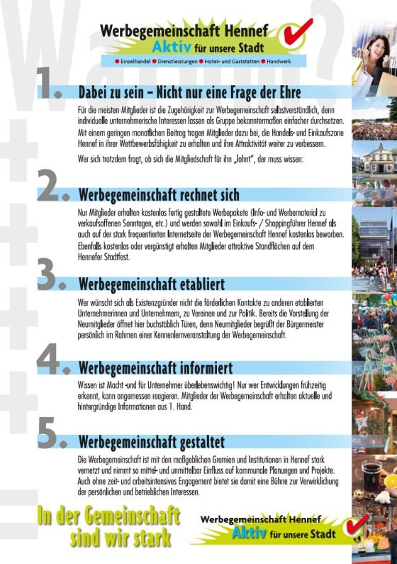 Werbegemeinschaft Hennef - Aktiv für unsere Stadt!