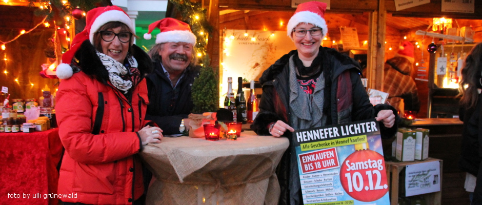 Hennefer Lichter am 10.12.2016
